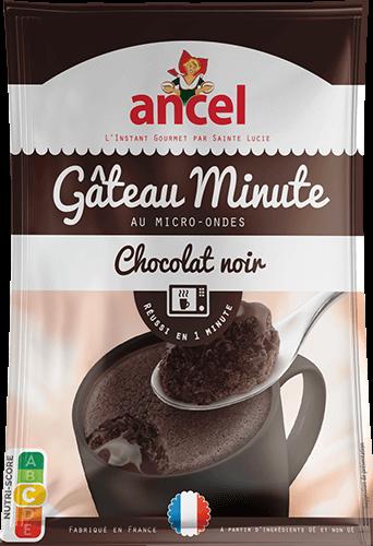 Gâteau minute au chocolat noir