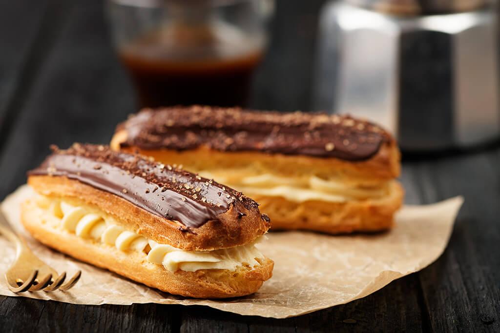 Eclairs vanille chocolat