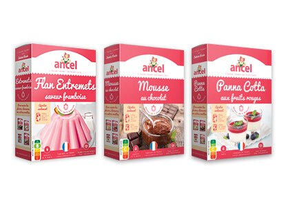 Desserts Entremets Ancel