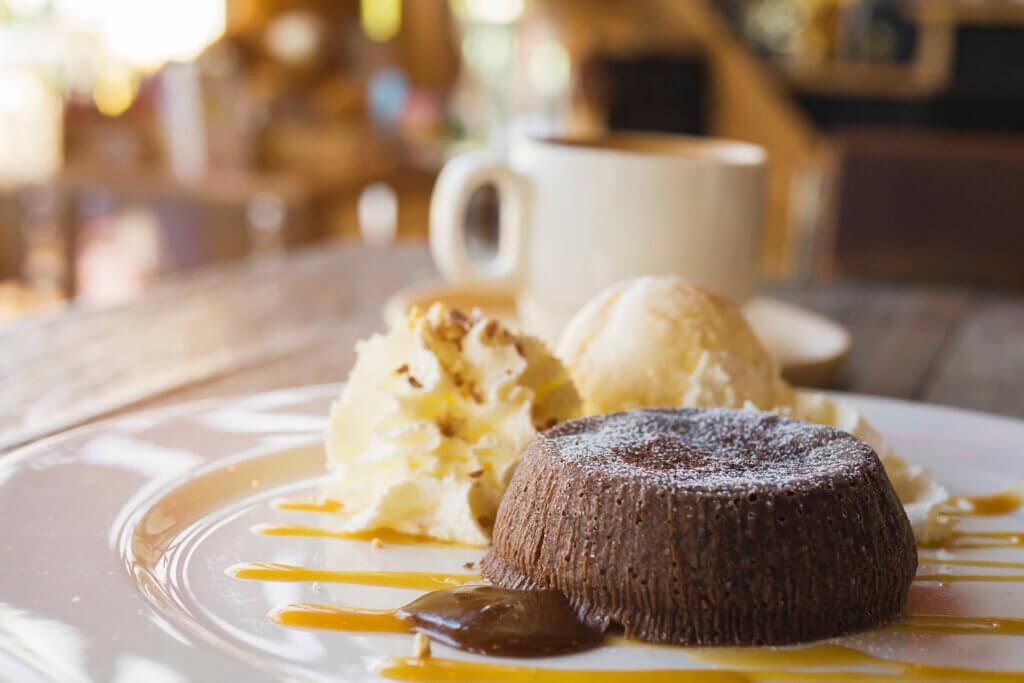 Moelleux chocolat - cœur coulant caramel